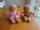 TY Beanie Babies Hansel And Gretel Gingerbread 7
