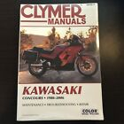 Clymer Repair Service Shop Manual Kawasaki ZG1000 Concours/GTR1000 86-06 M409-2