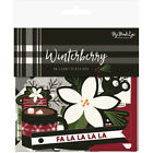 My Minds Eye Winterberry Collection Christmas Puffy Stickers wtb117
