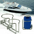 2pcs Stainless Cup Drink Holder Ring Marine Boat Car Truck Camper RV Universal A
