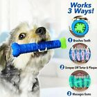 Chew Toy Dog Toothbrush Pet Molar Tooth Cleaning Brushing Stick Doggy Puppy EA