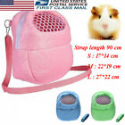 US Portable Small Pet Carrier Hamster Chinchilla Travel Warm Bag Guinea Pig Bed