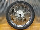 96-16 Honda Rebel CMX250 FRONT WHEEL RIM W TIRE & ROTOR 44650-KEB-325