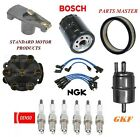 Tune Up Kit Air Oil Fuel Filters Cap Wire Spark Plugs For JEEP CJ5 L6 38L 1978
