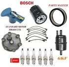 Tune Up Kit Air Oil Fuel Filters Cap Wire Spark Plugs For JEEP CJ7 L6 42L 1976