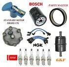 Tune Up Kit Filters Cap Wire Plugs For JEEP CJ5 L6 38LW O Vapor Diverter 1975