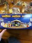 Childrens PVC Nativity Figures Stable Tales of Glory Bible Toys Play Set VHTF