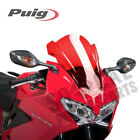 PUIG Windscreen Z-Racing Series Red Honda VFR800F Interceptor (2014-2015) +30mm