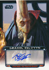 2012 Topps Star Wars Galactic Files Autographs Guide 25
