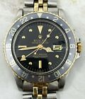 Vintage Rolex GMT-Master Wristwatch Ref. 1675 Two-Tone Gold and Steel NR