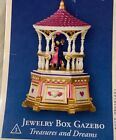 Hallmark musical Jewelry Box Gazebo Keepsake Ornament 2004 NIB Treasures dreams