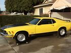 1970 Ford Mustang 1970 Ford Mustang Mach 1