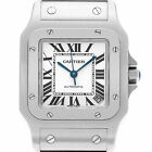 Cartier Santos W20098D6 Stainless Steel Off White dial 32mm Automatic watch
