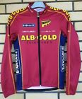 ALB GOLD BIONADE Gonso Vintage Retro Cycling Jersey Bike Long Sleeve Size S
