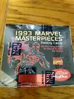 1993 MARVEL MASTERPIECES - FACTORY SEALED BOX - 36 PACKS