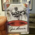 Jim Brown 2017 Immaculate Auto Moments 3 5 #JB-2