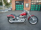 2005 Harley-Davidson Softail  2005 HARLEY DAVIDSON FXST SOFTAIL SHOW BIKE CANDY METALLIC GHOST FLAMES CHROME