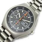 TUTIMA Military Chronograph Lemania 5100 Automatic Day-Date Water Resist 10ATM