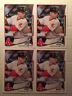 MOOKIE BETTS LOT OF (4) 2014 TOPPS UPDATE SERIES #US-26 RED SOX ROOKIE RC