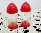 Mid Century acrylic atomic salt and pepper shaker Selling grandmoms collection