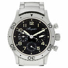 Breguet Type Xx 3800 Stainless Steel Black dial 39mm Automatic watch