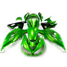 Green Black ABS Fairing Kit Bodywork For Kawasaki ZX-14R ZZR1400 2012-20XX