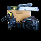 Nikon D600 243MP Digital DSLR Camera Body Only w Shutter Replaced Paperwork