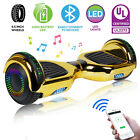 65 Hoverboard Bluetooth Chrome Electric Self Balancing Scooter no Bag Gold