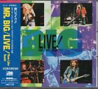 Mr. Big ‎Live! Raw Like Sushi JAPAN CD with OBI AMCY-159