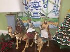 RAZ Imports 165 3 Wisemen Set 3 New Last One Nativity Scene Great Buy