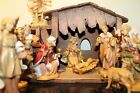 Fontanini Christmas Nativity Set With 11 Figures and Wooden Creche