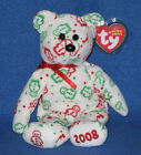 TY GINGERSPICE the BEAR BEANIE BABY - MINT with NEAR PERFECT TAG - HALLMARK EXCL