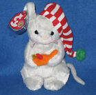 TY FLICKER the MOUSE BEANIE BABY - MINT with NEAR PERFECT TAG BBOM