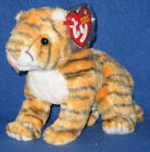 TY RUMBA the TIGER BEANIE BABY - MINT with NEAR PERFECT TAG