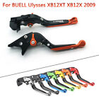 For Buell Ulysses XB12XT Motorcycle Extendable Adjustable Clutch Brake Lever  09