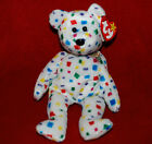 Beanie Babies TY 2K the Millennium Bear - with heart and tush tags