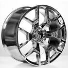 4 24 Velocity Wheels 288 Chrome GMC Sierra Replica Rims B5