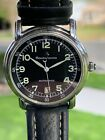 MAURICE LACROIX WATCH PONTOS AUTOMATIC DATE 68775 SAPPHIRE MILITARY STAINLESS