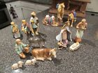 HUMMEL Goebel 15 PC Christmas NATIVITY SET 214 large perfect condition in box
