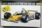 Heller 1/12 Scale Renault RE 20/RE 23 Formula I Racer Model Kit ~ Rene Arnoux