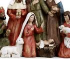 Flashsale Holy Family and Three Kings Christmas Nativity Figurine 13 inch NG