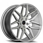 4 20 Staggered Giovanna Wheels Bogota Silver Machined Rims B6