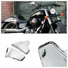 Mpotorcycle Chrome Battery Side Fairing Coverfor Honda Shadow VLX Deluxe VT600C