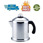 8 Cup Stainless Steel Percolator Coffee Stovetop Percolator Dishwasher Safe