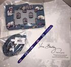 VERA BRADLEY Iconic Zip Id Case  Lanyard CATS MEOW Limited Edition NWT + Pen