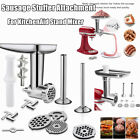 US Meat Grinder Sausage Stuffer Attachment For KitchenAid Cuisinart Stand Mixer