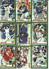 2019 Topps Holiday Pick Your Player Complete Your Set Trout Acuna Base Cards