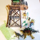 Dino Valley Tower Traps Playset Chap Mei Tower Native Figure Dinosaurs RARE