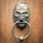 Jacob Marley Door Knocker Sculpture Faux Metal A Christmas Carol Dickens