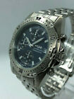 NEW  Pulsar V657-8030 Chrono Watch Date 100M Blue Dial St Steel Band.Never worn.